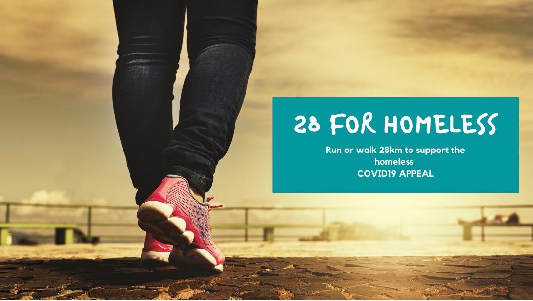 28 for Homeless Challenge