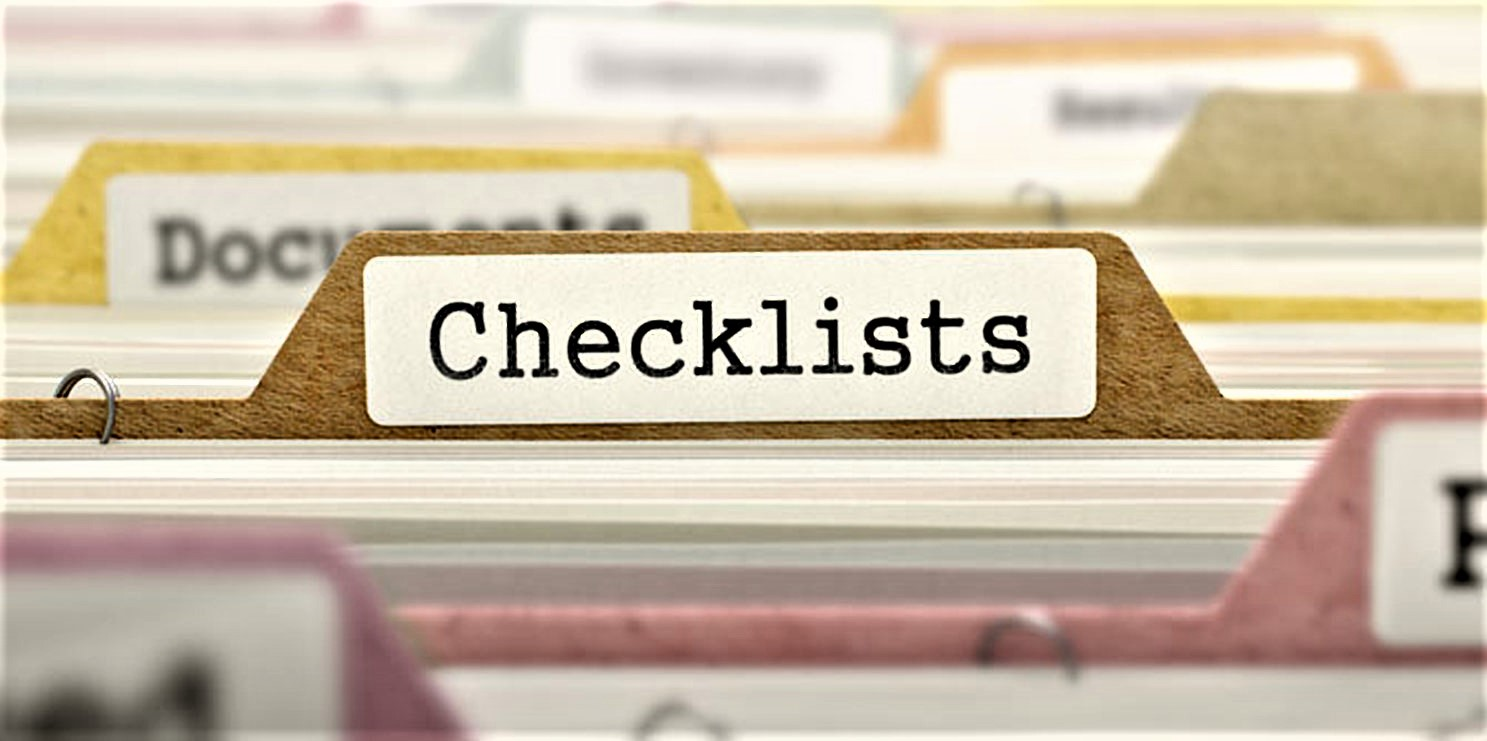 Renting Checklists