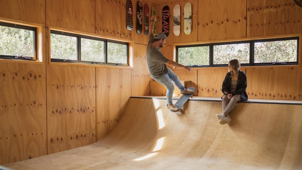 Epic Gold Coast house designed around indoor skate ramp for sale