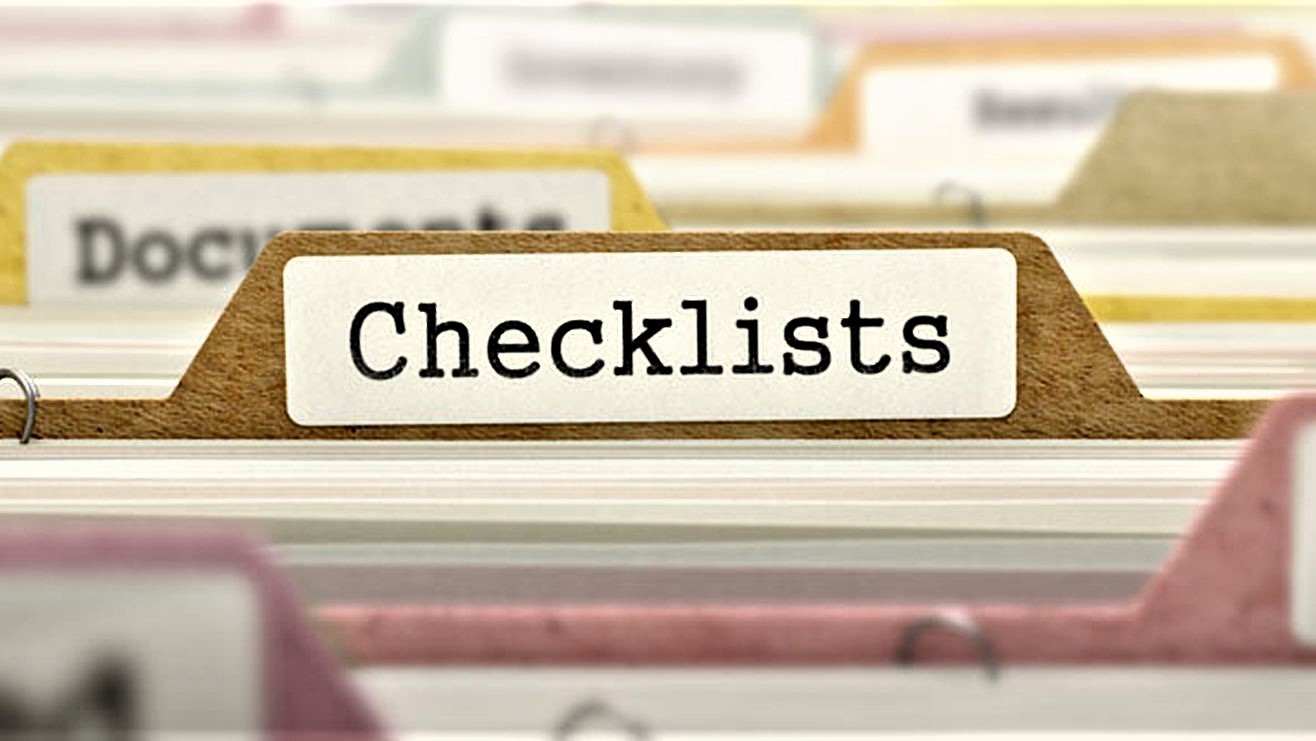 Buying Checklists